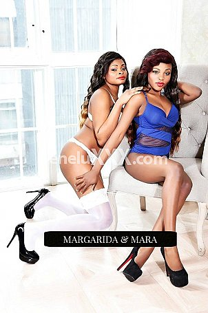 Margarida and Mara escort girl à Luxembourg