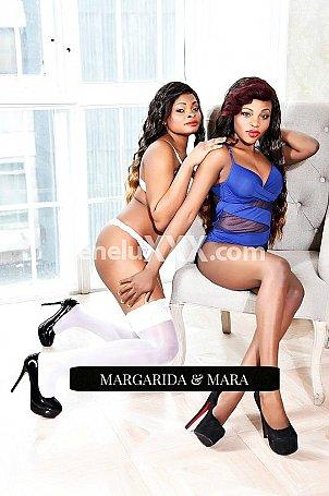 Margarida and Mara escort girl � Merl